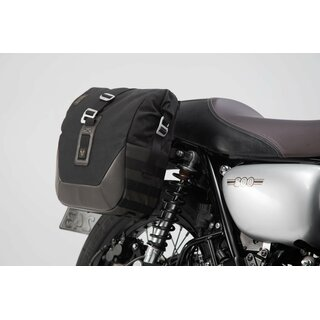 Legend Gear Seitentaschen-System LC Black Edition Kawasaki W800 Street / Cafe (18-)
