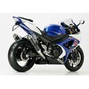 Hurric Supersport Auspuff Suzuki GSXR 1000 07- 08 Carbon...