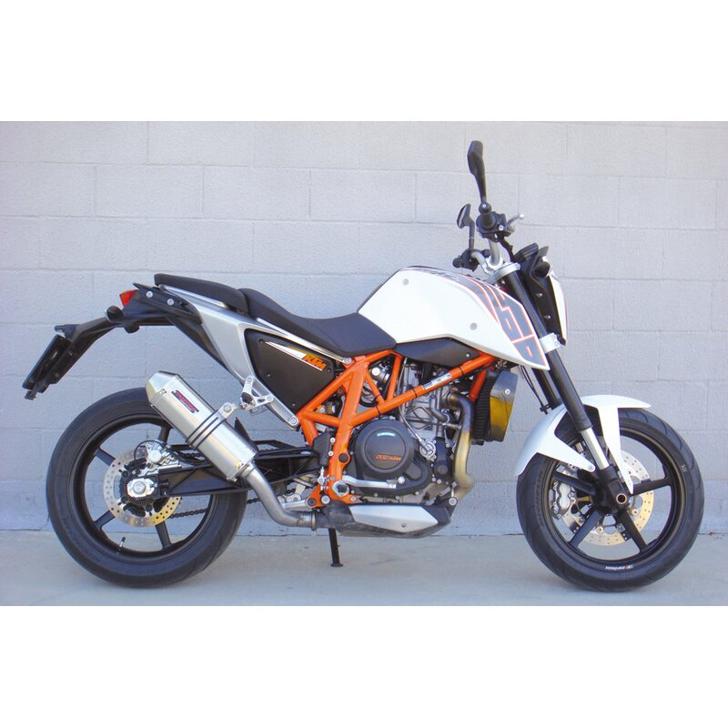 takkoni motorradauspuff ktm 690 duke 12. Black Bedroom Furniture Sets. Home Design Ideas