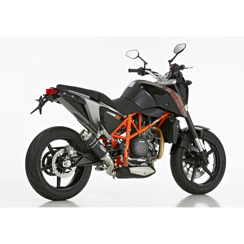hurric supersport auspuff ktm 690 duke endtopf. Black Bedroom Furniture Sets. Home Design Ideas