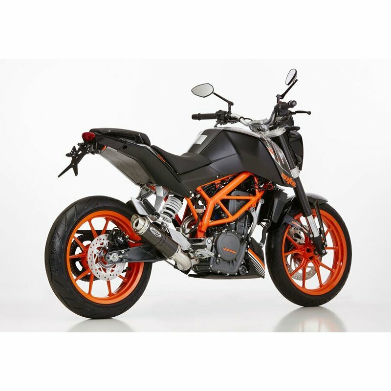 shark auspuff factory ktm 390 duke mit abe. Black Bedroom Furniture Sets. Home Design Ideas