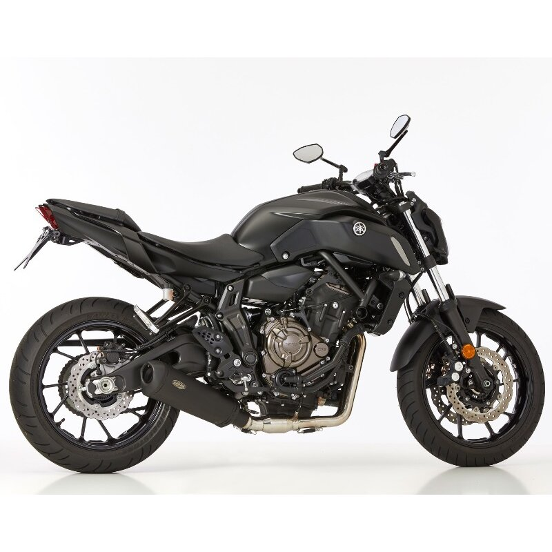 shark auspuff dsx 10 yamaha mt07 komplettanlage. Black Bedroom Furniture Sets. Home Design Ideas