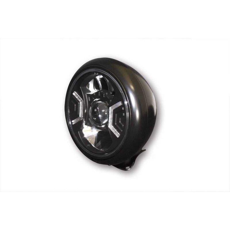 motorrad led scheinwerfer hd style typ 2 7 zoll. Black Bedroom Furniture Sets. Home Design Ideas