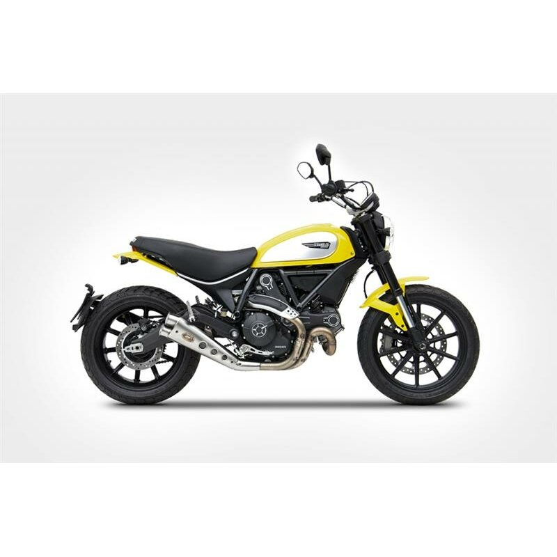 zard auspuff ducati scrambler. Black Bedroom Furniture Sets. Home Design Ideas