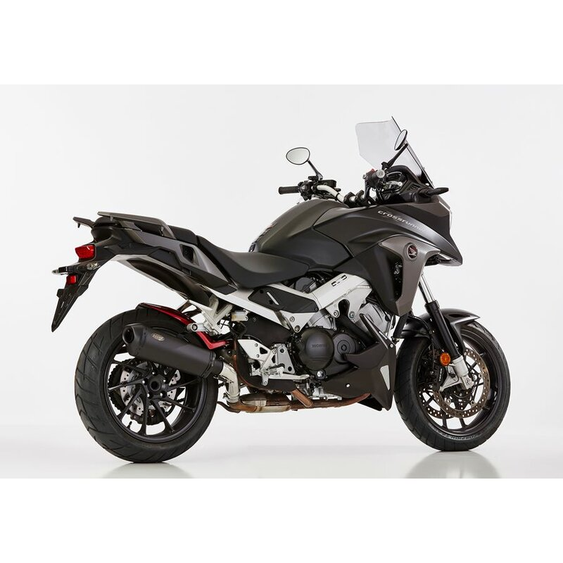 shark dsx 10 auspuff honda vfr 800 x crossrunner. Black Bedroom Furniture Sets. Home Design Ideas