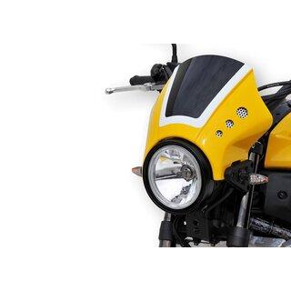 Bodystyle Scheinwerferverkleidung Yamaha XSR 700 16 Gelb Schwarz Weiss Mit ABE