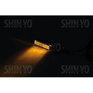 SHIN YO LED Blinker FINELINE mit light guide System. E-geprüft.