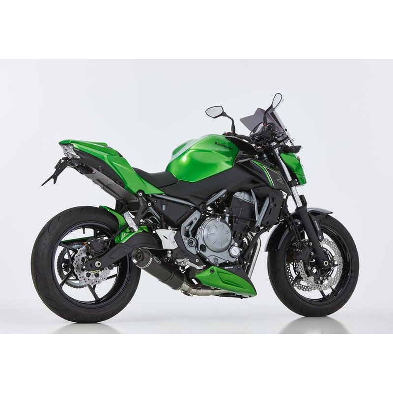 shark street gp komplettanlage kawasaki z 650 17 sub. Black Bedroom Furniture Sets. Home Design Ideas