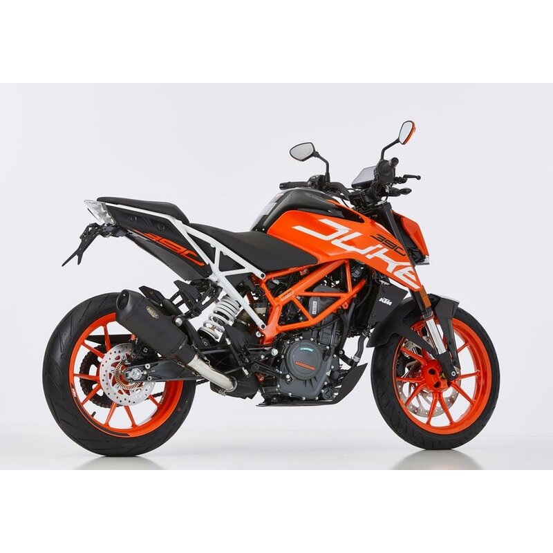 shark dsx 10 auspuff super short ktm 125 duke 390 duke. Black Bedroom Furniture Sets. Home Design Ideas