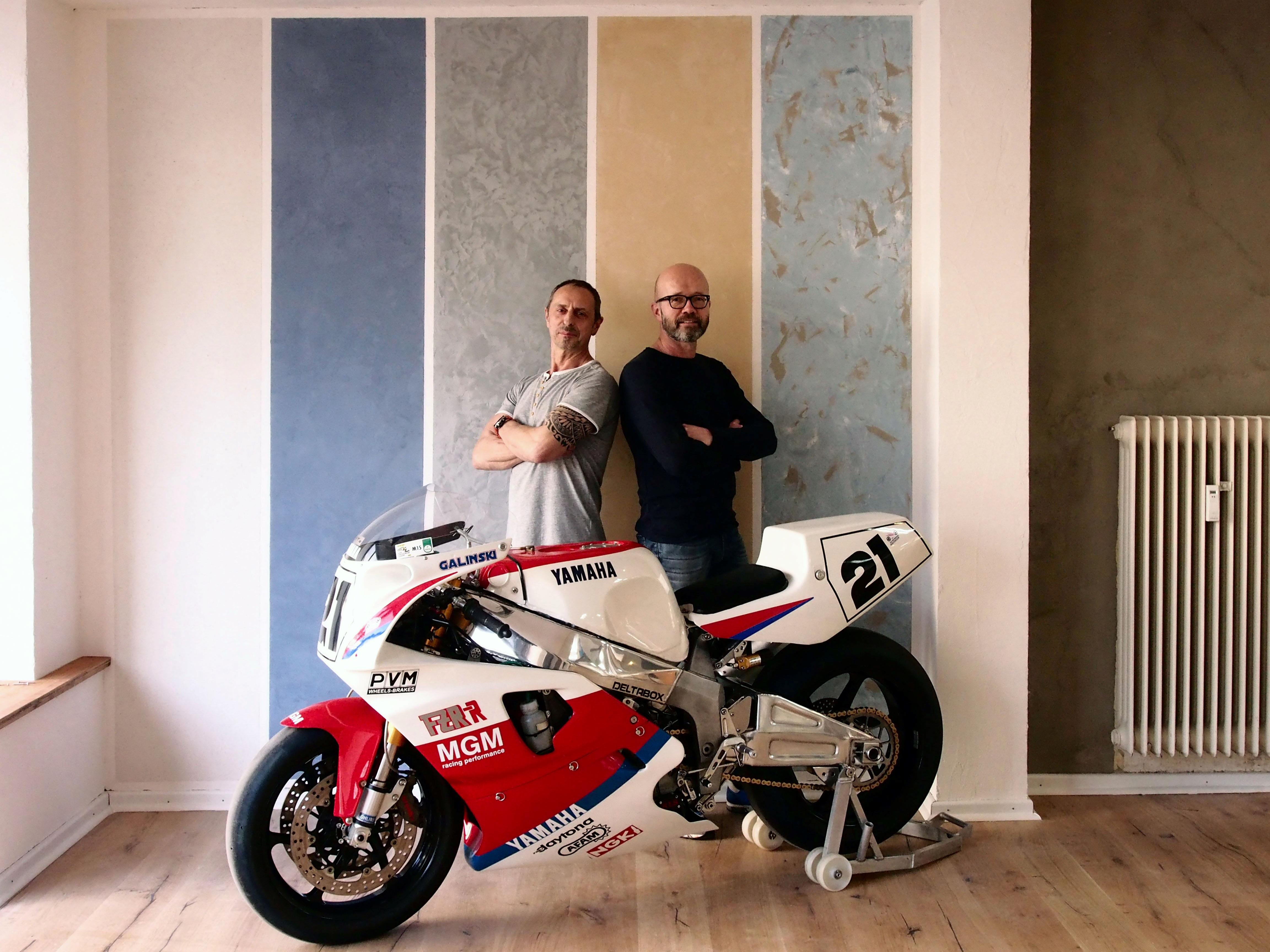 Die beiden Inhaber Stefan Borszcz und Michael Krüder