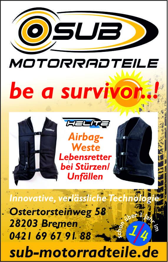 Helite Airbag für Motorradfahrer